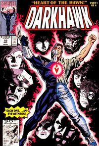 Cover Thumbnail for Darkhawk (Marvel, 1991 series) #10 [Direct]