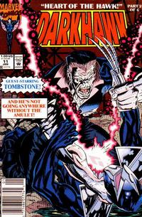 Cover Thumbnail for Darkhawk (Marvel, 1991 series) #11 [Newsstand]