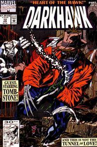 Cover Thumbnail for Darkhawk (Marvel, 1991 series) #12 [Direct]