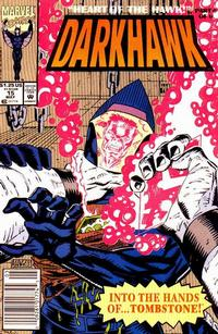 Cover Thumbnail for Darkhawk (Marvel, 1991 series) #15 [Newsstand]