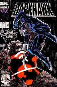 Cover Thumbnail for Darkhawk (Marvel, 1991 series) #17 [Direct]