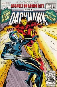 Cover Thumbnail for Darkhawk Annual (Marvel, 1992 series) #1 [Direct]