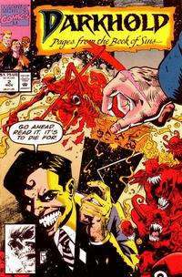 Cover Thumbnail for Darkhold: Pages from the Book of Sins (Marvel, 1992 series) #2 [Direct]