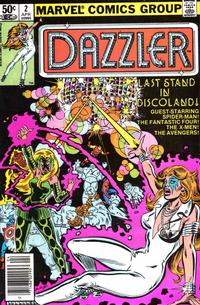 Cover Thumbnail for Dazzler (Marvel, 1981 series) #2 [Newsstand]