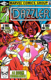 Cover Thumbnail for Dazzler (Marvel, 1981 series) #4 [Direct Edition]