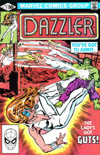 Cover Thumbnail for Dazzler (Marvel, 1981 series) #7 [Direct Edition]