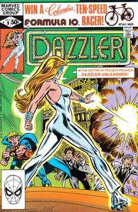Cover Thumbnail for Dazzler (Marvel, 1981 series) #9 [Direct]