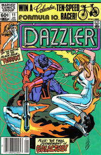 Cover Thumbnail for Dazzler (Marvel, 1981 series) #11 [Newsstand]
