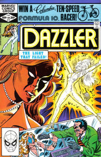 Cover Thumbnail for Dazzler (Marvel, 1981 series) #12 [Direct Edition]