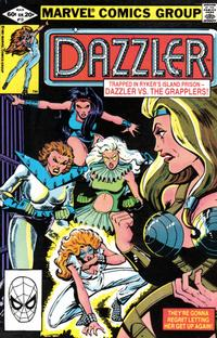Cover Thumbnail for Dazzler (Marvel, 1981 series) #13 [Direct Edition]