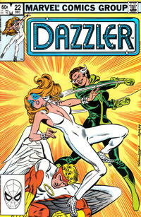 Cover Thumbnail for Dazzler (Marvel, 1981 series) #22 [Direct]