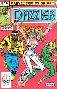 Cover Thumbnail for Dazzler (Marvel, 1981 series) #24 [Direct Edition]