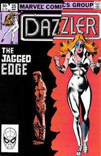 Cover Thumbnail for Dazzler (Marvel, 1981 series) #25 [Direct Edition]