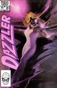Cover Thumbnail for Dazzler (Marvel, 1981 series) #28 [Direct Edition]