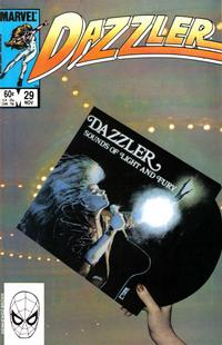 Cover Thumbnail for Dazzler (Marvel, 1981 series) #29 [Direct Edition]