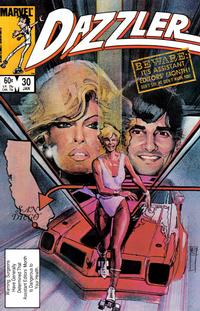 Cover Thumbnail for Dazzler (Marvel, 1981 series) #30 [Direct Edition]