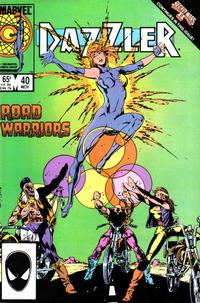 Cover Thumbnail for Dazzler (Marvel, 1981 series) #40 [Direct Edition]