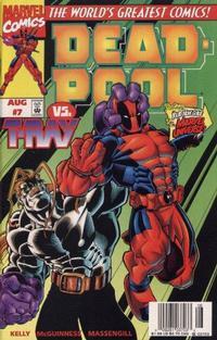 Cover Thumbnail for Deadpool (Marvel, 1997 series) #7 [Newsstand]