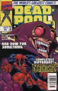 Cover Thumbnail for Deadpool (Marvel, 1997 series) #9 [Newsstand]