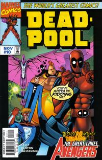Cover Thumbnail for Deadpool (Marvel, 1997 series) #10 [Direct Edition]