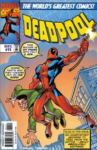Cover Thumbnail for Deadpool (Marvel, 1997 series) #11 [Direct Edition]