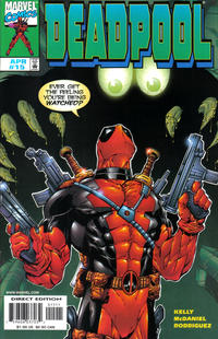 Cover Thumbnail for Deadpool (Marvel, 1997 series) #15 [Direct Edition]