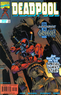 Cover Thumbnail for Deadpool (Marvel, 1997 series) #16 [Direct Edition]