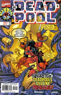 Cover Thumbnail for Deadpool (Marvel, 1997 series) #21 [Direct Edition]