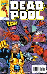 Cover Thumbnail for Deadpool (Marvel, 1997 series) #22 [Direct Edition]