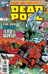 Cover Thumbnail for Deadpool (Marvel, 1997 series) #24 [Direct Edition]