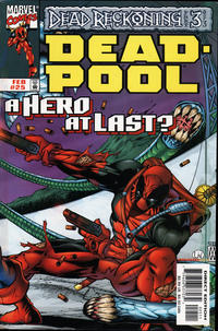 Cover Thumbnail for Deadpool (Marvel, 1997 series) #25 [Direct Edition]