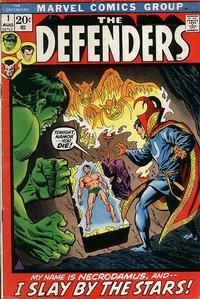 Cover Thumbnail for The Defenders (Marvel, 1972 series) #1