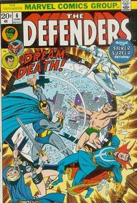 Cover Thumbnail for The Defenders (Marvel, 1972 series) #6 [Regular Edition]
