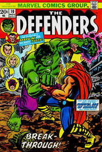 Cover Thumbnail for The Defenders (Marvel, 1972 series) #10