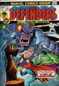 Cover Thumbnail for The Defenders (Marvel, 1972 series) #11 [Regular Edition]