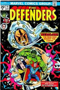 Cover Thumbnail for The Defenders (Marvel, 1972 series) #14