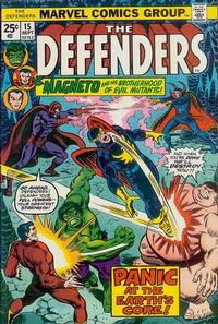 Cover Thumbnail for The Defenders (Marvel, 1972 series) #15 [Regular Edition]