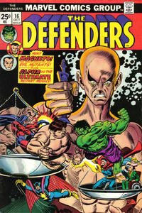 Cover Thumbnail for The Defenders (Marvel, 1972 series) #16 [Regular Edition]