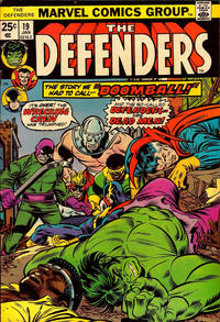 Cover Thumbnail for The Defenders (Marvel, 1972 series) #19 [Regular Edition]