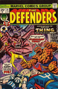 Cover Thumbnail for The Defenders (Marvel, 1972 series) #20