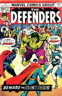 Cover Thumbnail for The Defenders (Marvel, 1972 series) #21 [Regular Edition]