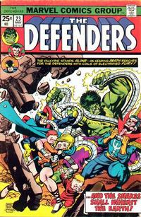 Cover Thumbnail for The Defenders (Marvel, 1972 series) #23 [Regular Edition]
