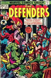 Cover Thumbnail for The Defenders (Marvel, 1972 series) #24 [Regular Edition]