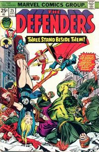 Cover Thumbnail for The Defenders (Marvel, 1972 series) #25 [Regular Edition]
