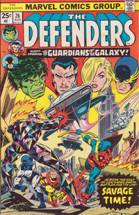 Cover Thumbnail for The Defenders (Marvel, 1972 series) #26 [Regular Edition]