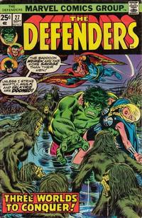 Cover Thumbnail for The Defenders (Marvel, 1972 series) #27 [Regular Edition]