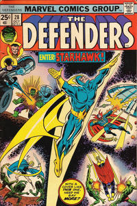 Cover Thumbnail for The Defenders (Marvel, 1972 series) #28 [Regular Edition]