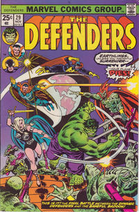 Cover Thumbnail for The Defenders (Marvel, 1972 series) #29 [Regular Edition]