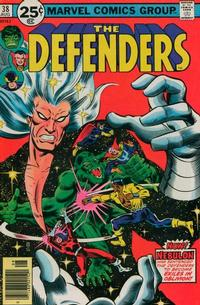 Cover Thumbnail for The Defenders (Marvel, 1972 series) #38 [25¢]