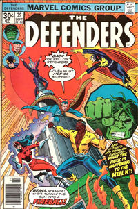 Cover Thumbnail for The Defenders (Marvel, 1972 series) #39 [Regular Edition]